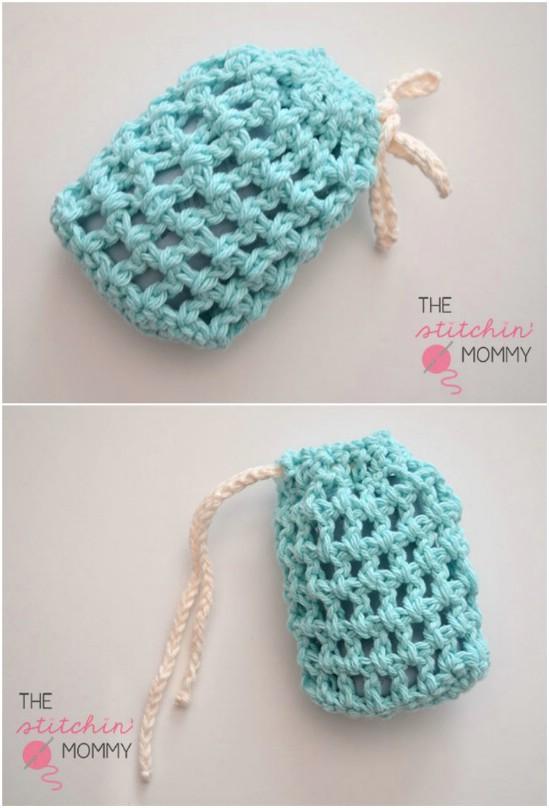 crochet patterns for beginners 2 soap saver pattern elzgogl