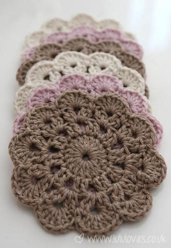crochet patterns for beginners beautiful crochet coasters tjalqvh