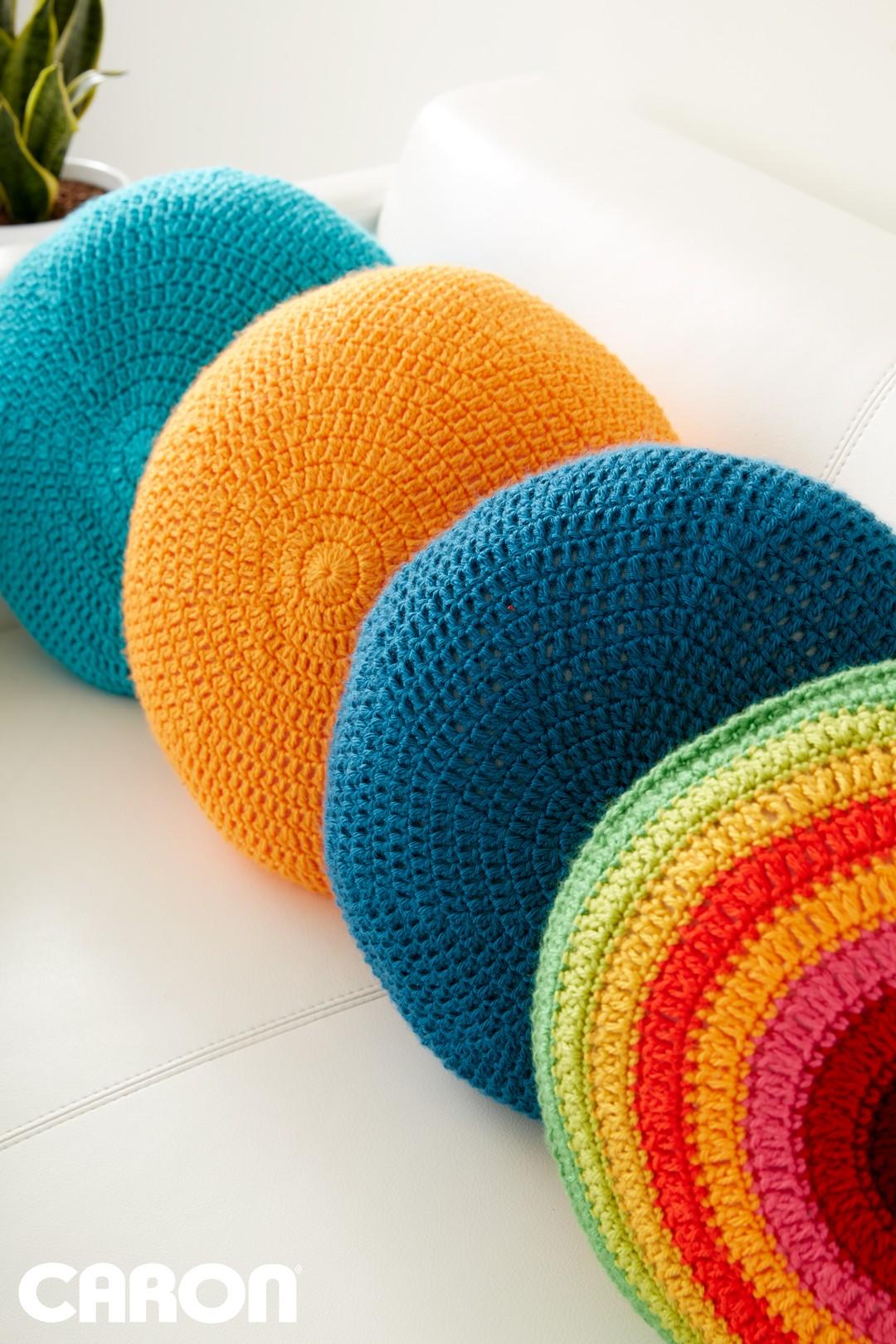 crochet pillow full circle pillow qxynjmq