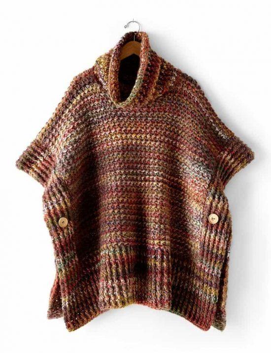 crochet poncho free pattern pvugqba