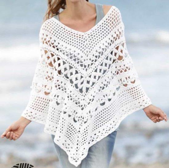 Wear It Wherever You Want: Crochet Poncho