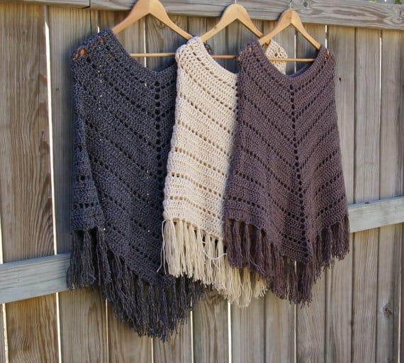 crochet poncho pattern ebduwrz