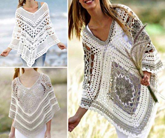 crochet poncho pattern jmounsw