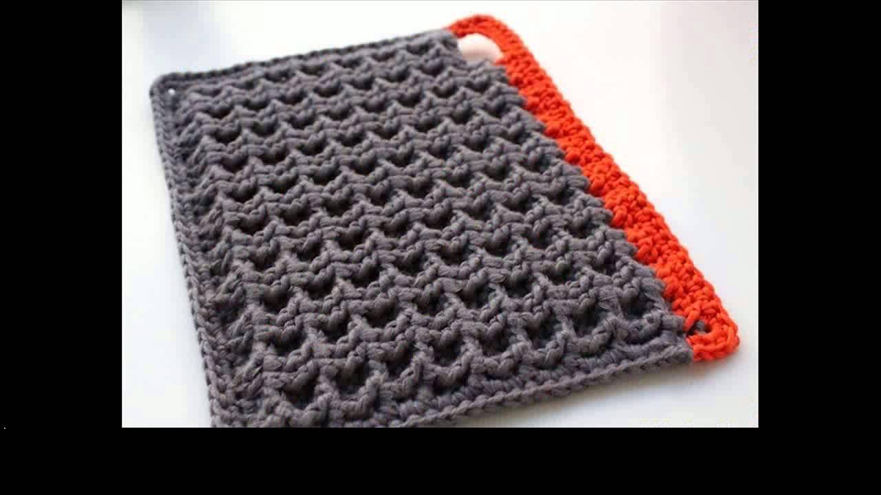 crochet pot holders easy crochet potholders cwbtwfc