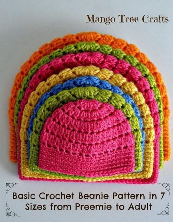 crochet projects crochet beanies wmntudf