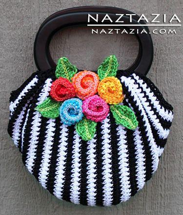 crochet purse crochet swag bag purse--links to free downloadable pattern qhpsygi