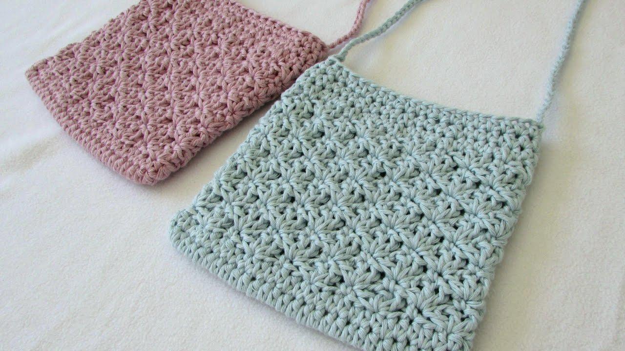 crochet purse how to crochet a pretty shell stitch purse / bag xspwqdp