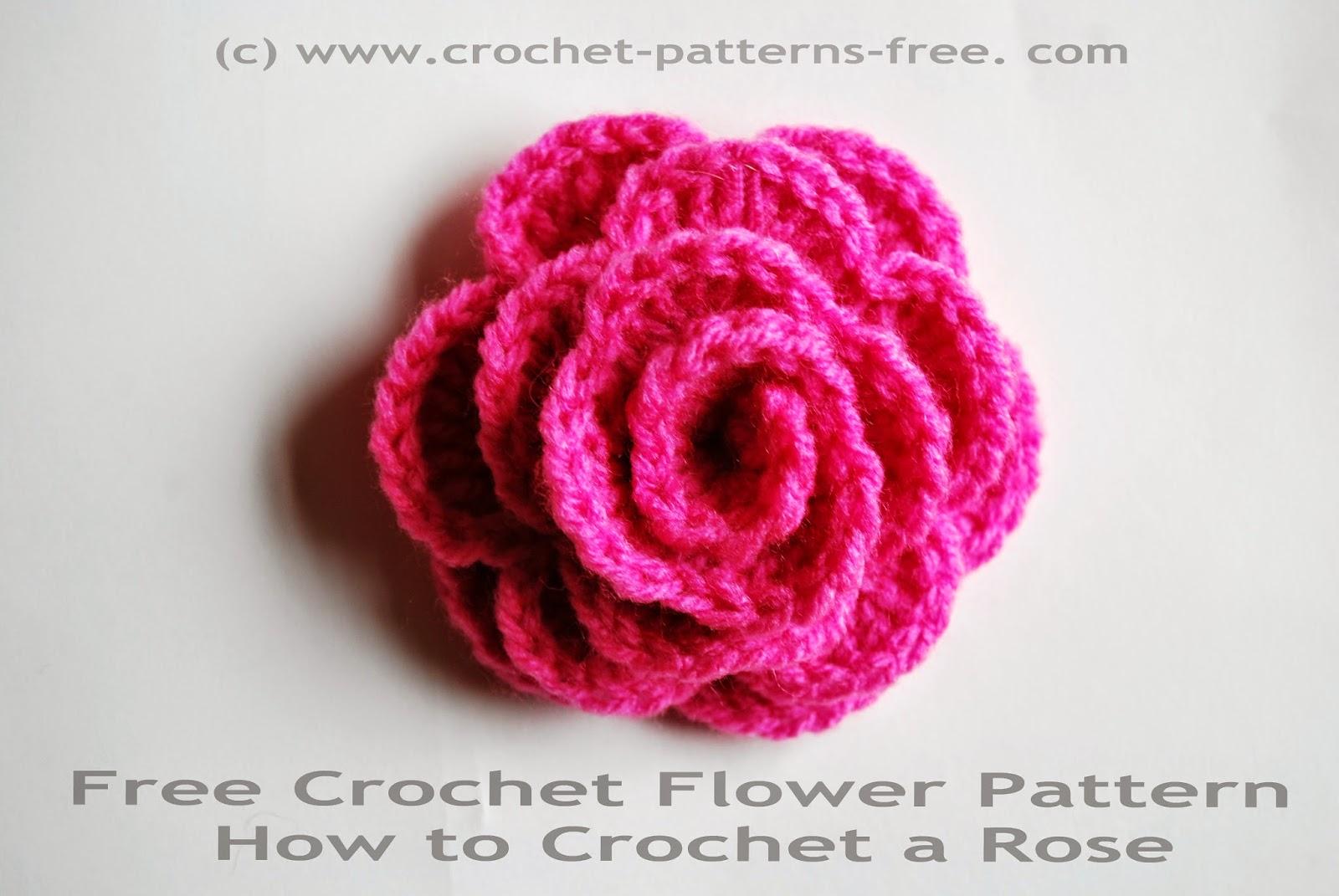 crochet rose pattern free crochet flower patters vebgxpk