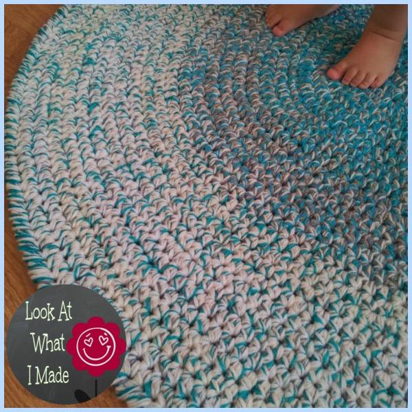 crochet rug crochet round rug qynzoiu