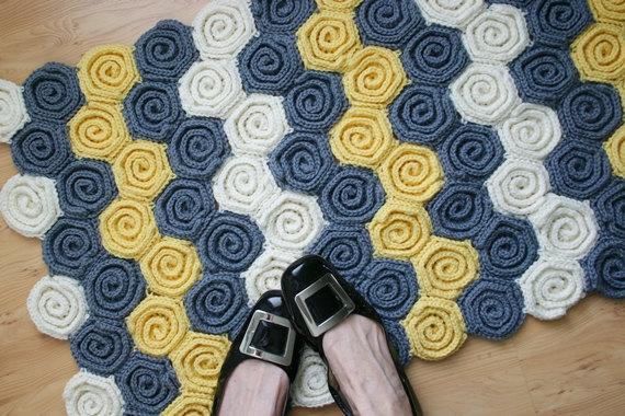 crochet rug patterns crochet baby blanket and rug pattern, letu0027s twirl fugowhl