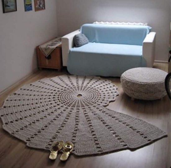 crochet rug patterns seashell carpet free crochet pattern uzotzjl