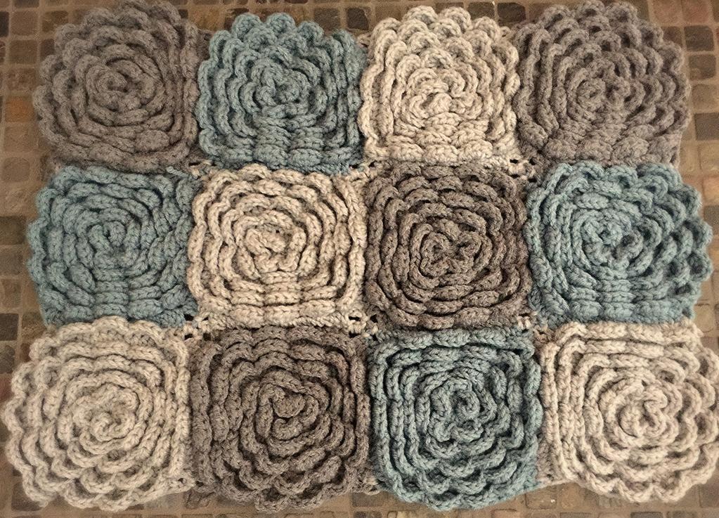 crochet rug patterns the dahlia rug crochet pattern nbpkcor
