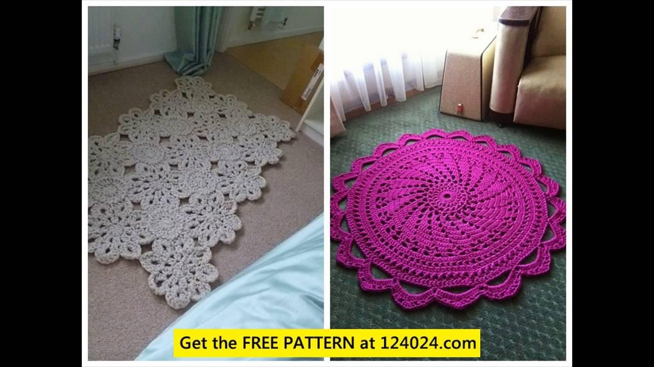 crochet rug yarn easy crochet rug pattern how to crochet a rectangle rug xfzamsz