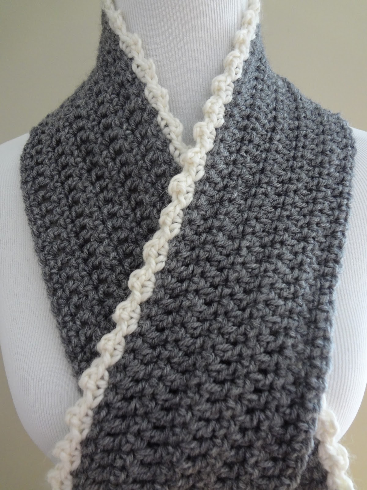 crochet scarf free crochet pattern...ingrid scarf axzshgv