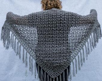 crochet shawl pattern - pebble lace crochet shawl instant download pdf file nnqlmst
