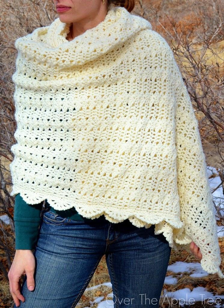 crochet shawl u003eu003e over the apple tree jhyjhon