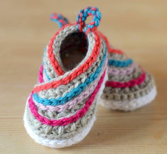 crochet shoes crochet kimono baby shoes pattern titidag