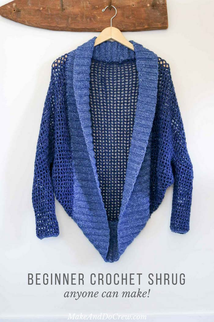 crochet shrug donu0027t let the dolman sleeves modern silhouette fool you, this easy crochet wthdunc