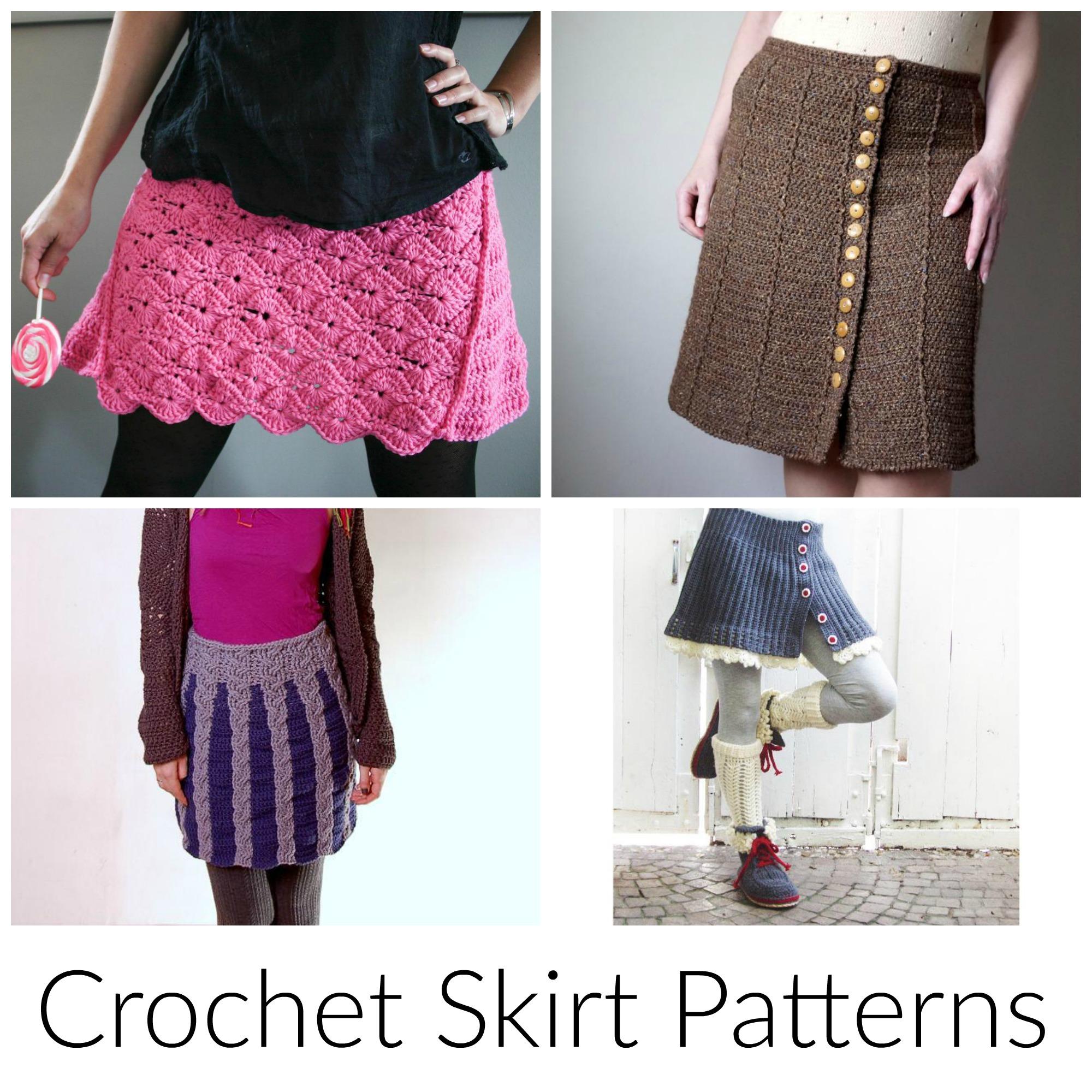 crochet skirt pattern 11 easy-to-style crochet skirt patterns mgklcac