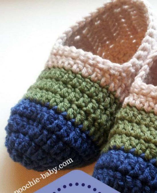 Crochet Slippers https://cdn.thewhoot.com/wp-content/uploads/2016/0... mhqpmco