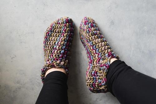 Crochet Slippers one hour crochet slippers gxntcte