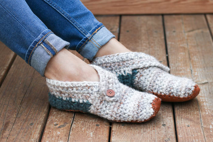 Crochet Slippers this free crochet slippers pattern will satisfy the modern minimalist in  you qcokobt
