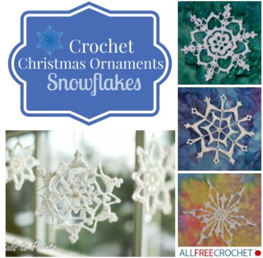 crochet snowflake pattern 31 crochet snowflake ornaments   allfreecrochet.com xijzolv