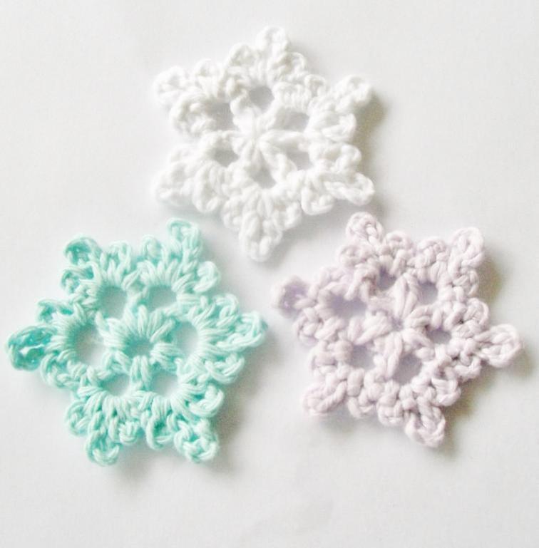 crochet snowflake pattern easy crochet snowflake   craftsy kzrlmqt