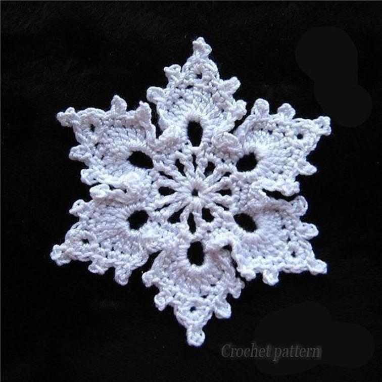 crochet snowflake pattern gifkeac