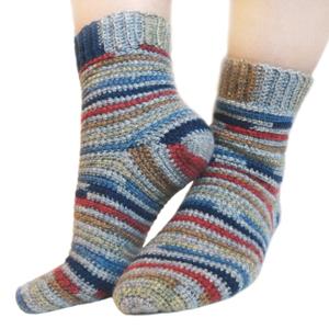 crochet sock pattern ... crochet adjustable quick socks xvtgual