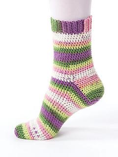 crochet socks basic sock ... uejcezq