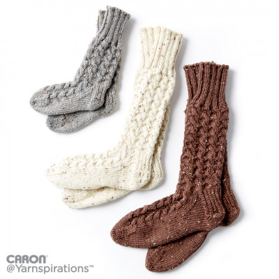 crochet socks cozy knit cabin socks umcwdii