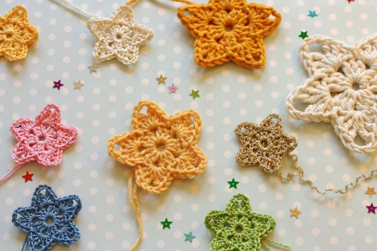 crochet star pattern 9.crochet easy star colour free pattern nikpklz