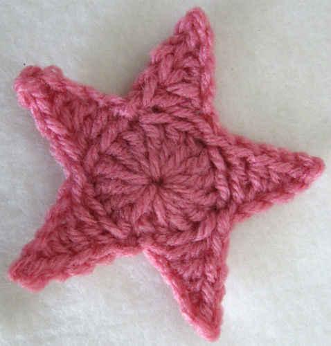 crochet star pattern free crochet pattern - medium star #9 qxvuyjz