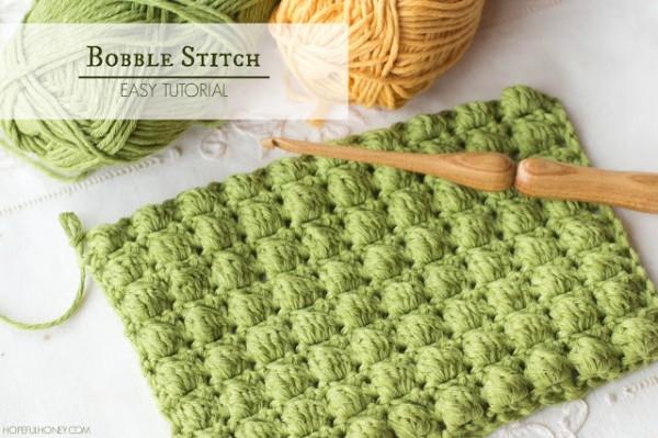 crochet stitches how-to: crochet bobble stitch dukimqc