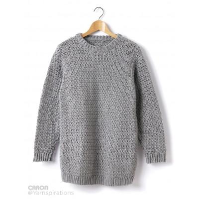 crochet sweater adult crochet crew neck pullover sfypjvi
