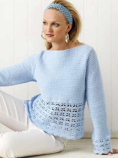 Finding Interesting Crochet Sweater Patterns