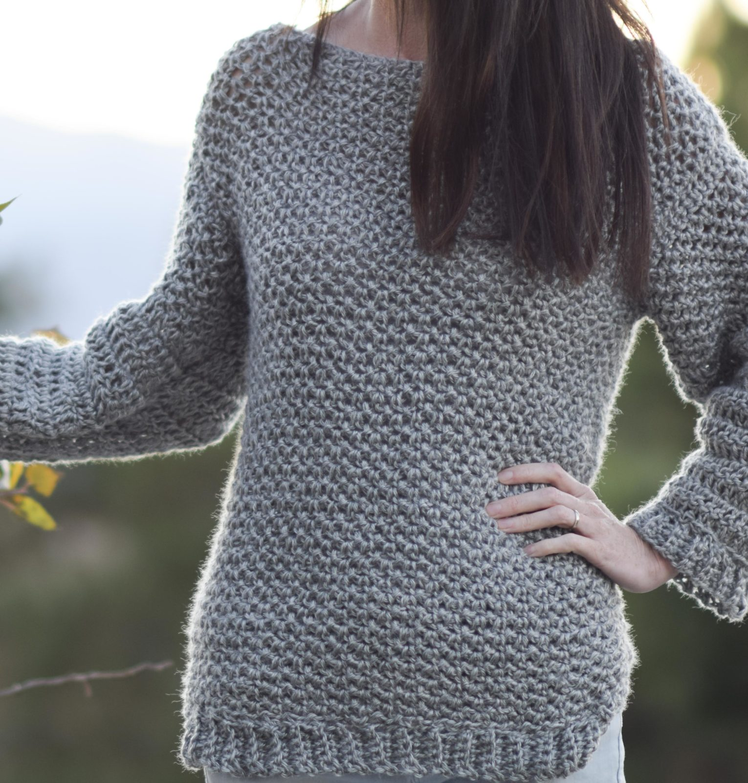 crochet sweater this is a terrific yarn at a great value - i only used jnjwcyp