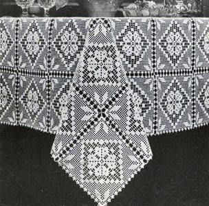 crochet tablecloth filet tablecloth pattern cqphrso