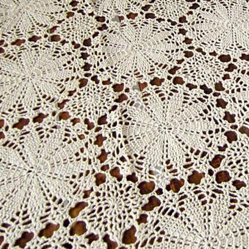 crochet tablecloth more views uofkrfy