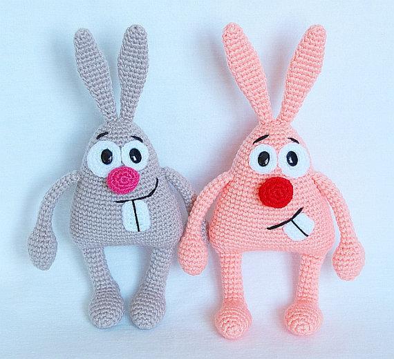 crochet toys and dolls in handmake bunny caprice rattle toy xkfakyu
