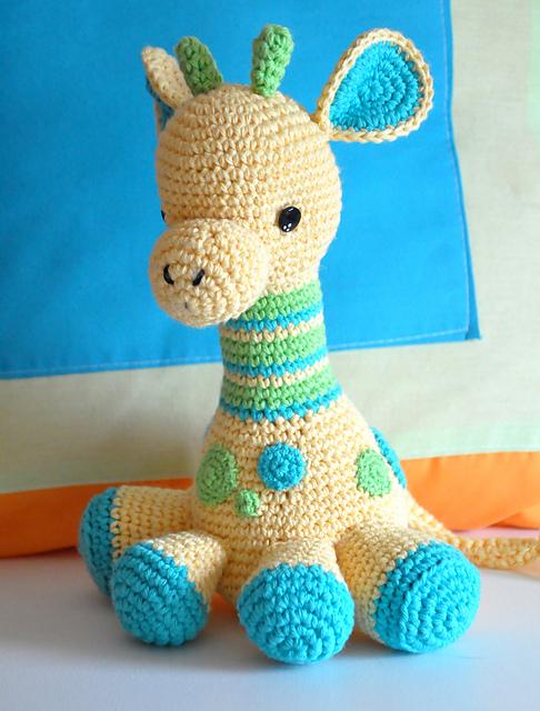 crochet toys crochet giraffe (via ravelry) make this darling stuffed giraffe your kidu0027s  favorite zbejoik