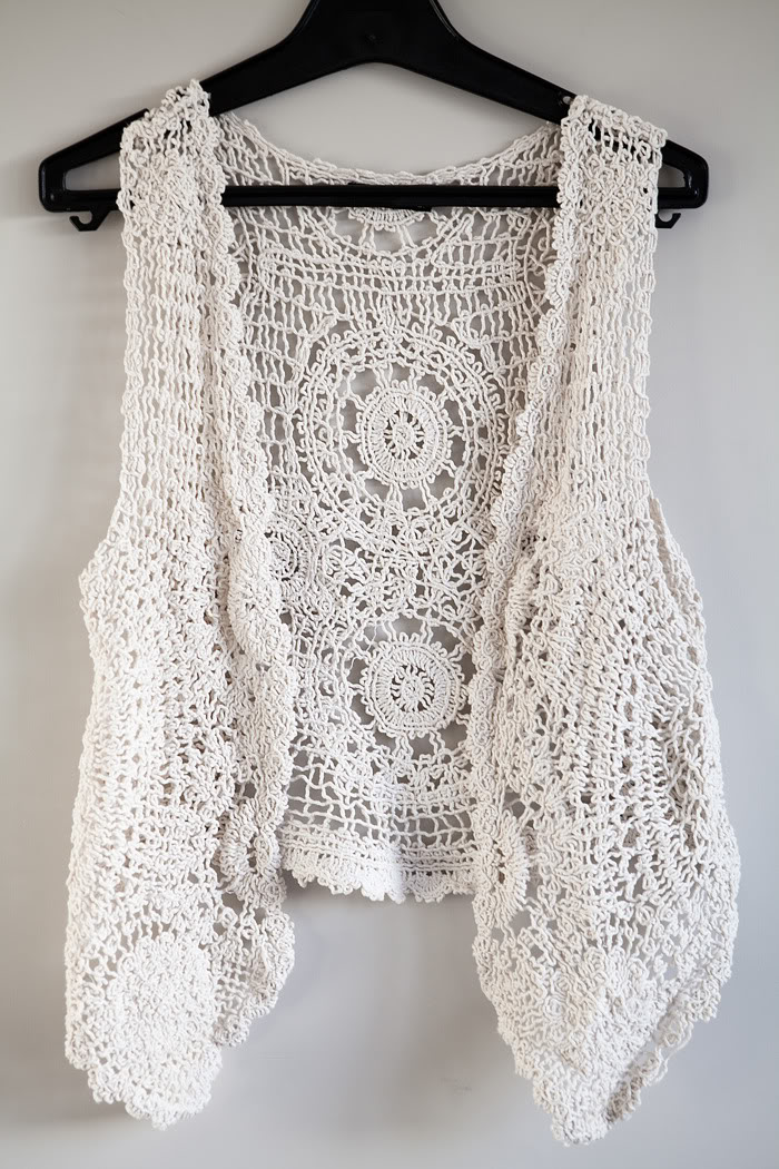 Crochet Vest anything that is done with dedication has a positive outcome. so does xakiecy