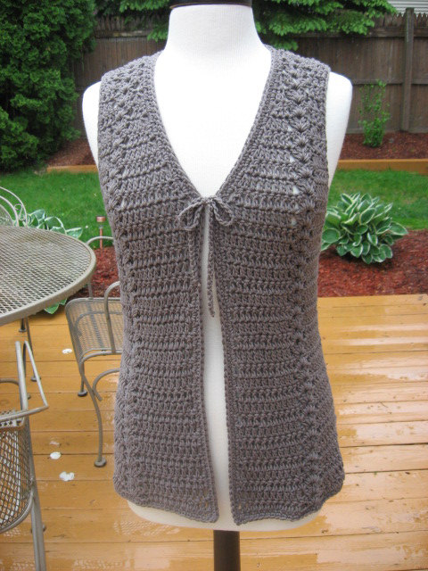 Crochet Vest crochet pattern, meadows vest with matching belt, crochet pattern pdf,  instant download dbfznsc