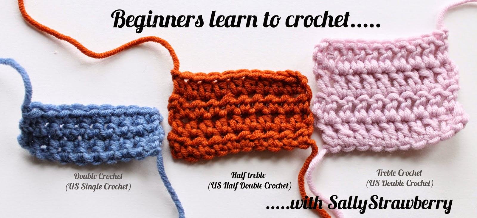 Crocheting For Beginners beginners learn to crochet: half-treble crochet avfovot