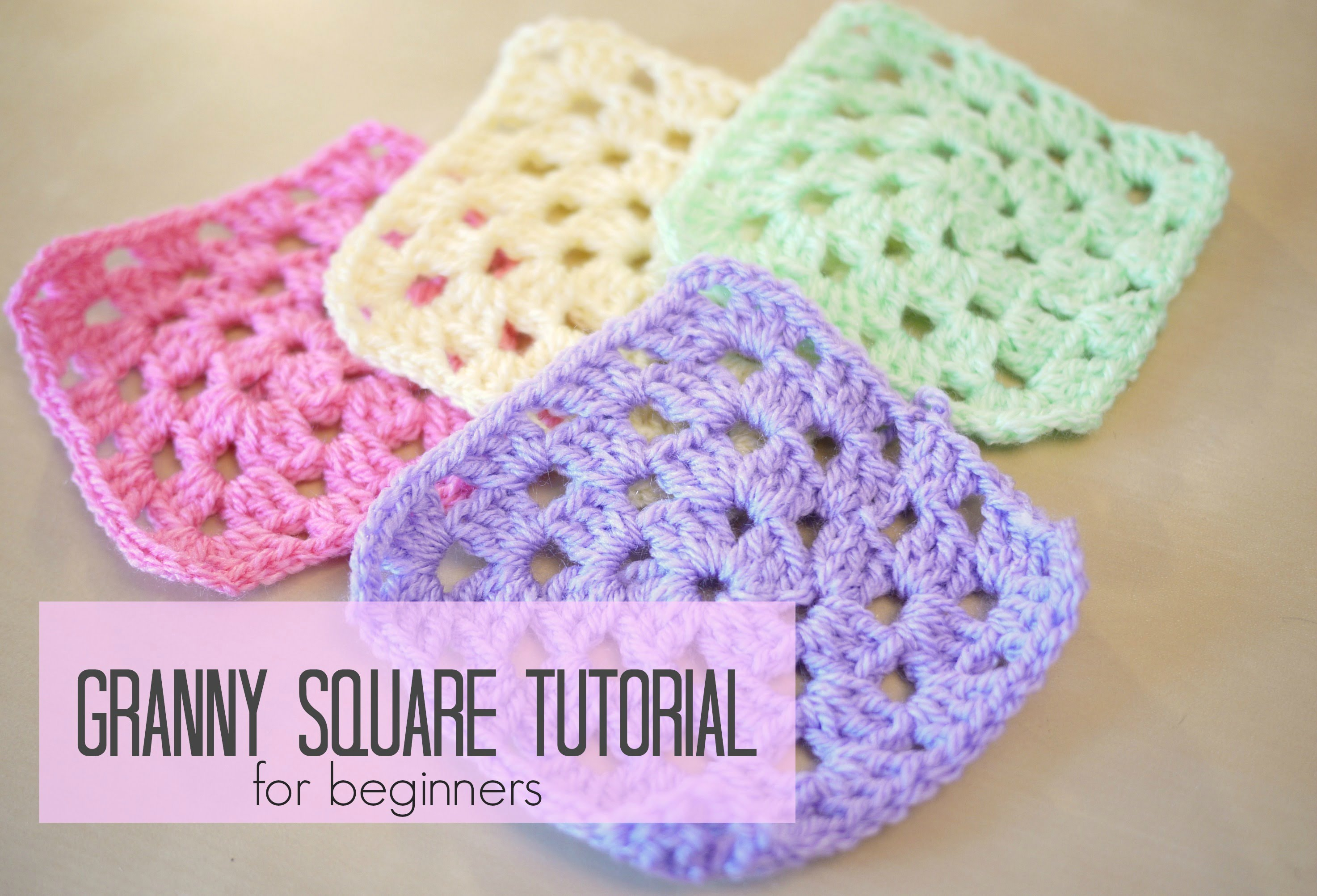 Crocheting For Beginners crochet: how to crochet a granny square for beginners | bella coco - sovkimu