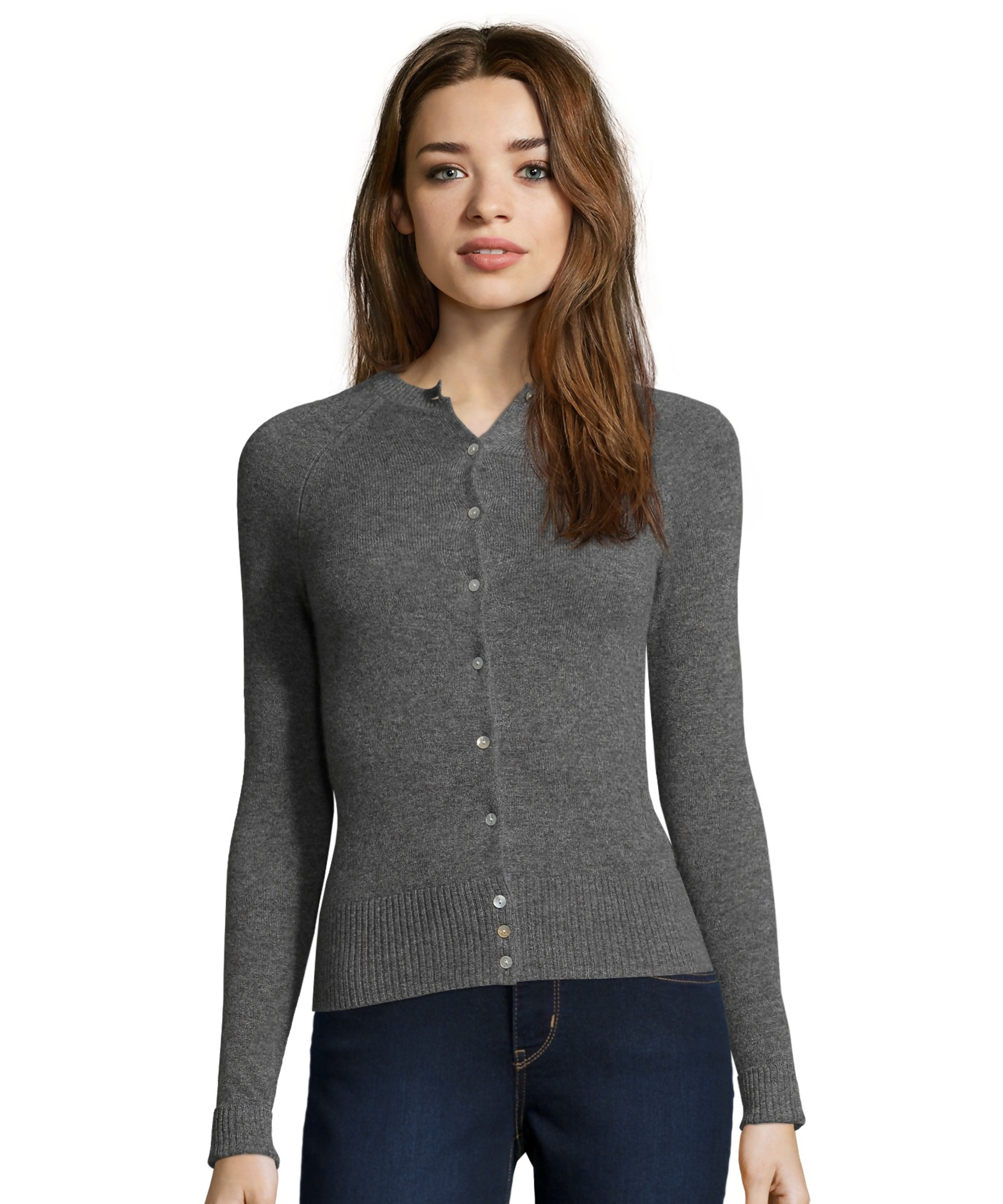 cynthia vincent long sleeve cashmere cardigan sweater bbpbrsu