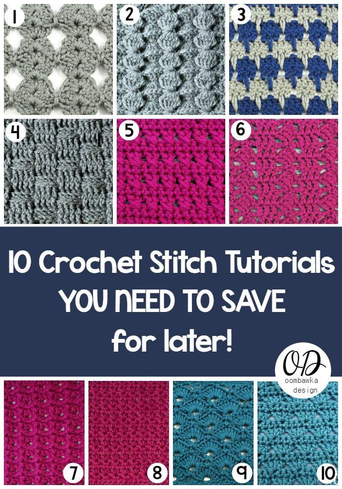 different crochet stitches letsjustgethooking : free pattern 10 crochet stitches disclaimer ... lzhizcy