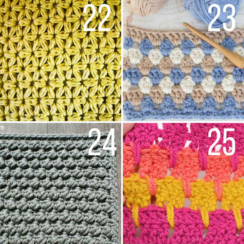 different crochet stitches this collection of modern crochet stitches for blankets and afghans is sure rtotepi