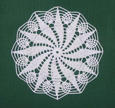 doily patterns pineapple daisy doily by crochet memories wxfacbo